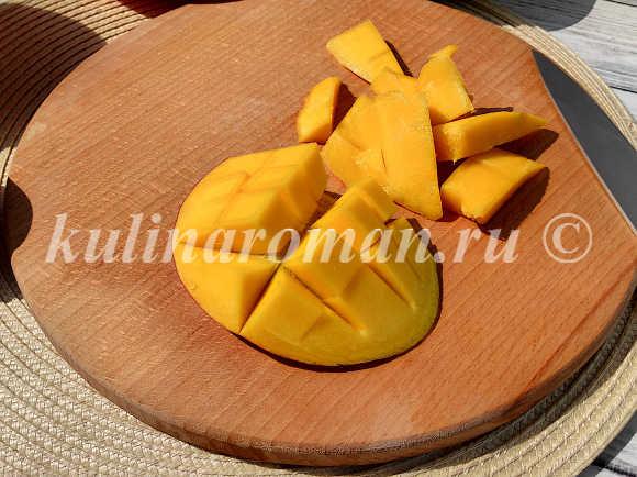 зефир с манго