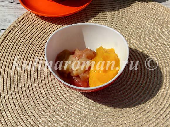 фруктовое пюре для зефира