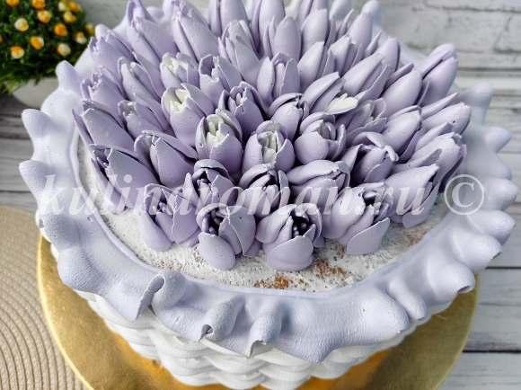 отсаживаем тюльпаны из крема