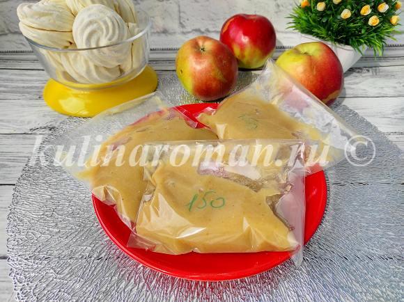 яблочное пюре впрок