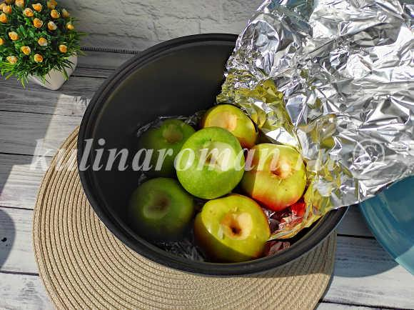 пюре из яблок