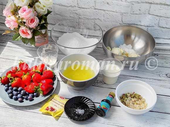 меренговый рулет рецепт с фото