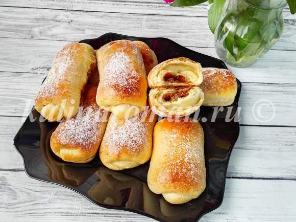 рецепт пышных булочек