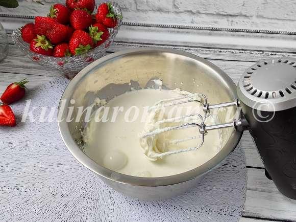 чизкейк со сгущенкой и творожным сыром
