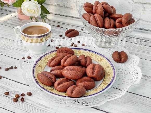 печенье с натуральным кофе