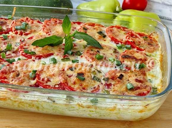 запеканка овощная с сыром