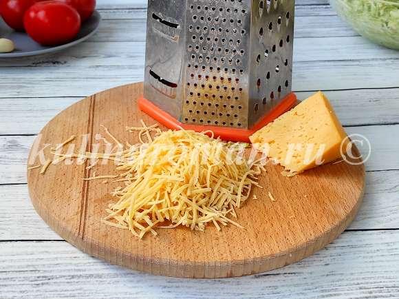 запеканка кабачковая с сыром и помидорами