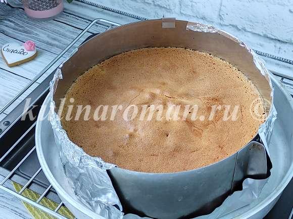 как приготовить ягодный бисквит