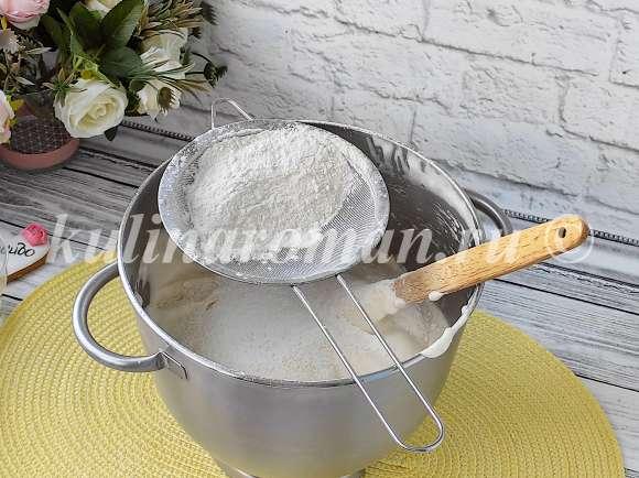 как приготовить бисквит с голубикой