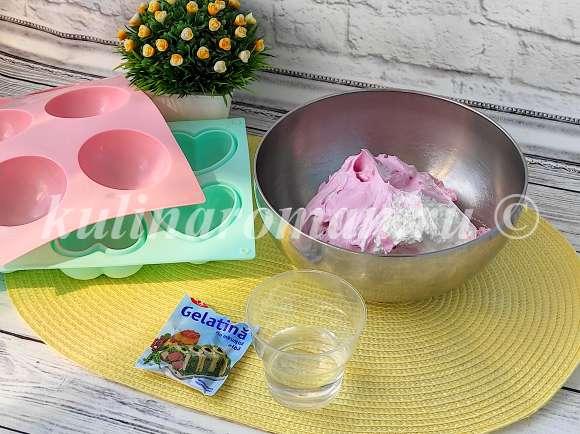 шары из крема