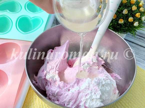 добавить желатин в крем