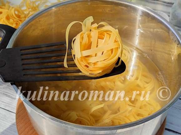 макароны в духовке